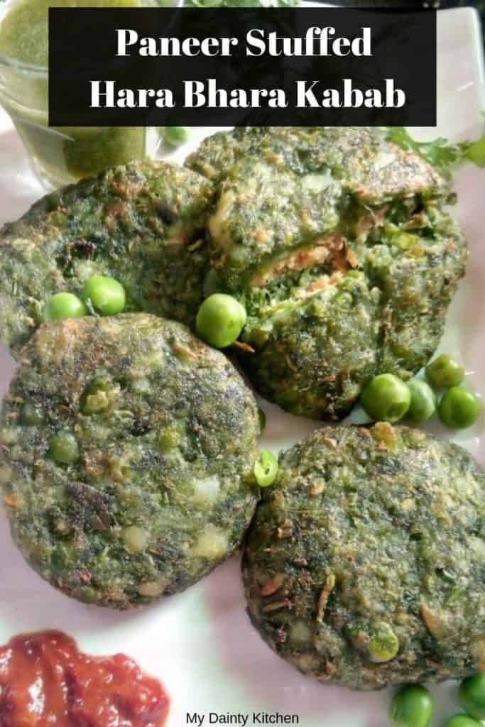 stuffed hara bhara kabab recipes