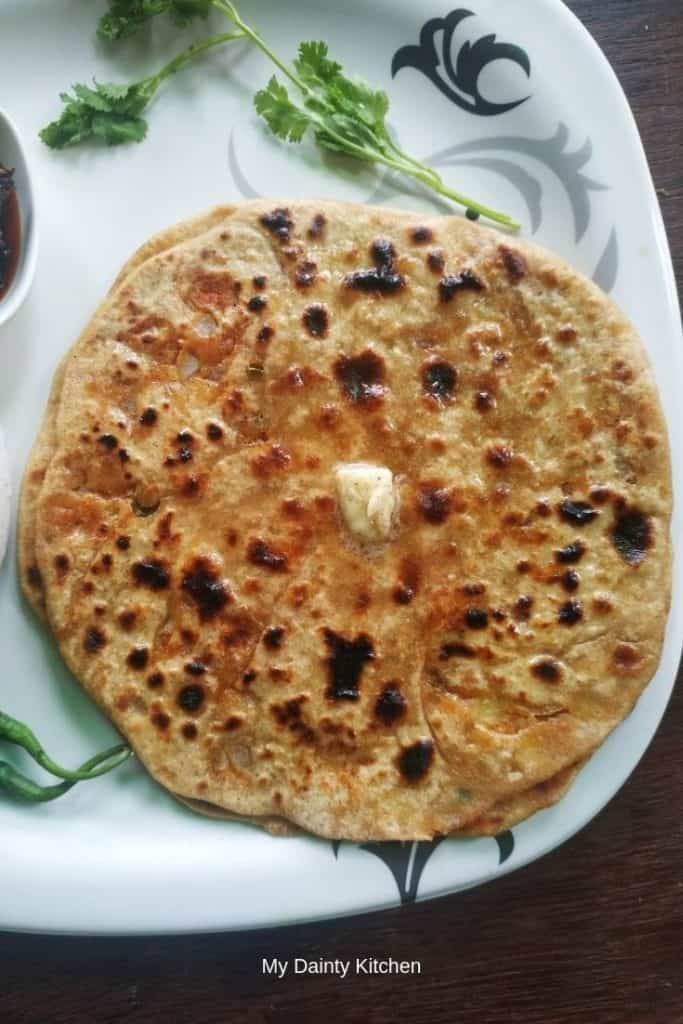north indian breakfast recipes aloo paratha
