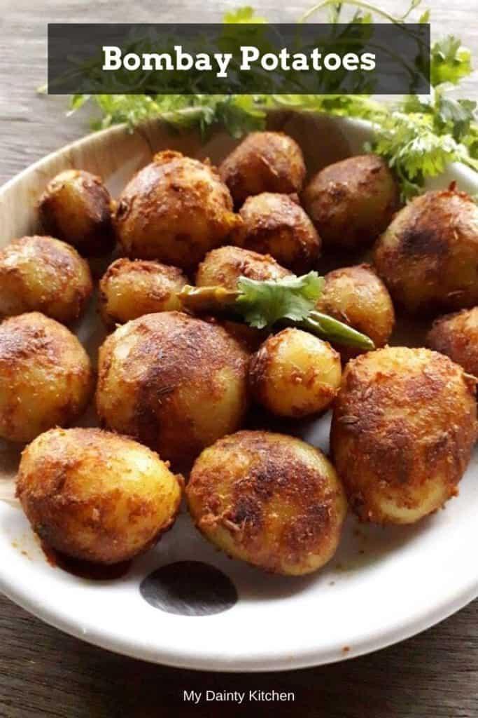 bombay potatoes - vegan potato recipes