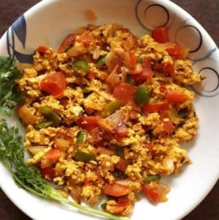 high protein breakfast recipes aneer bhurji