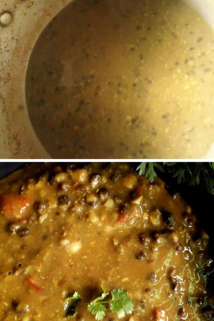 tempering of amritsari dal