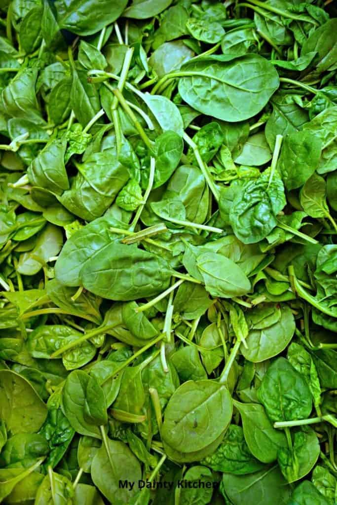 keto vegetables Spinach