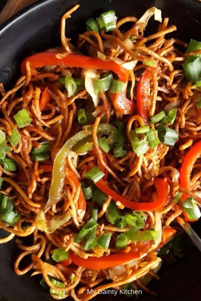 crispy noodles salad