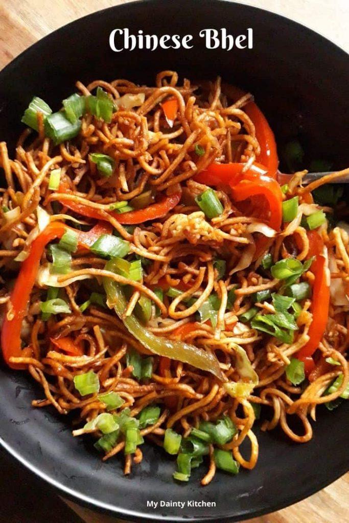 Chinese bhel Mumbai street food