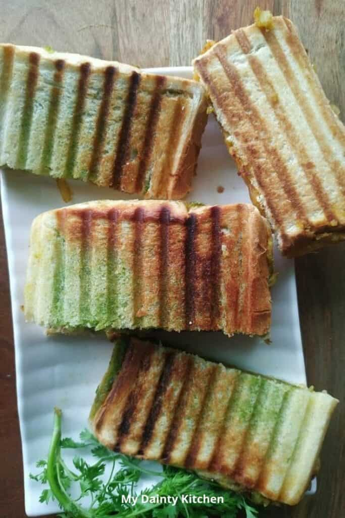 mumbai street food sandwich