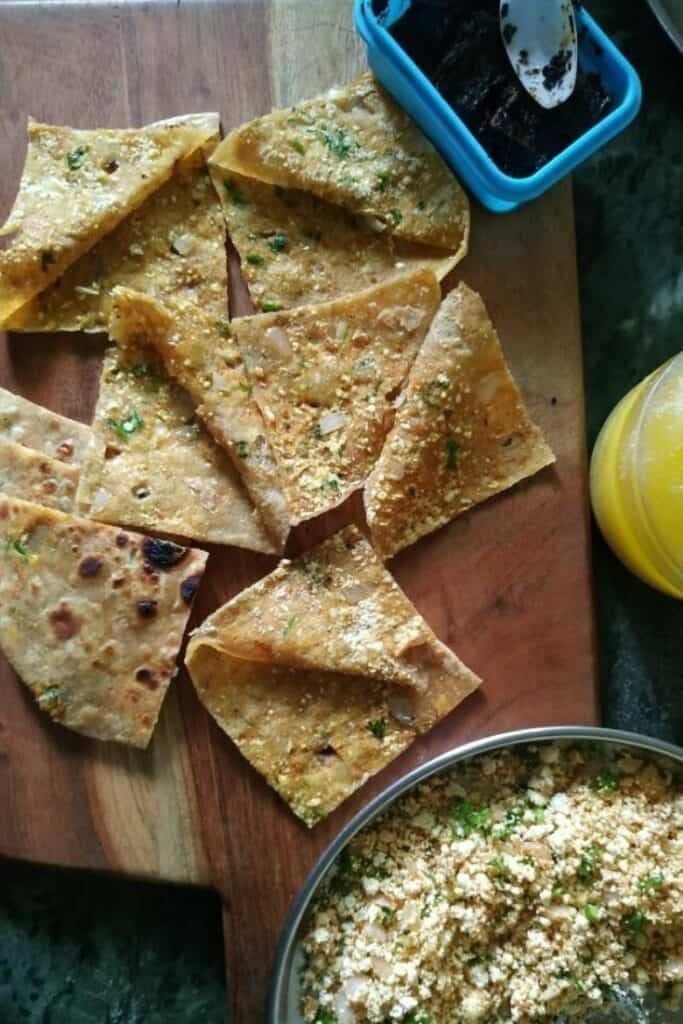 paneer paratha for breakfast