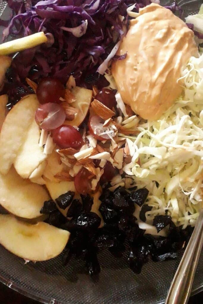 apple slaw ingredients