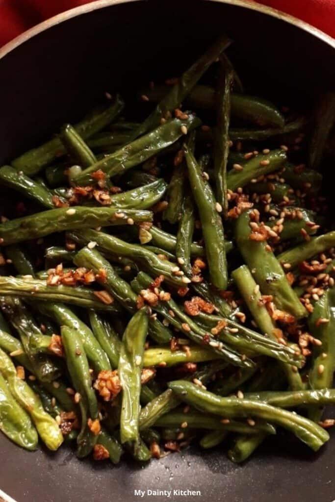 stir fried green beans for weight loss diet