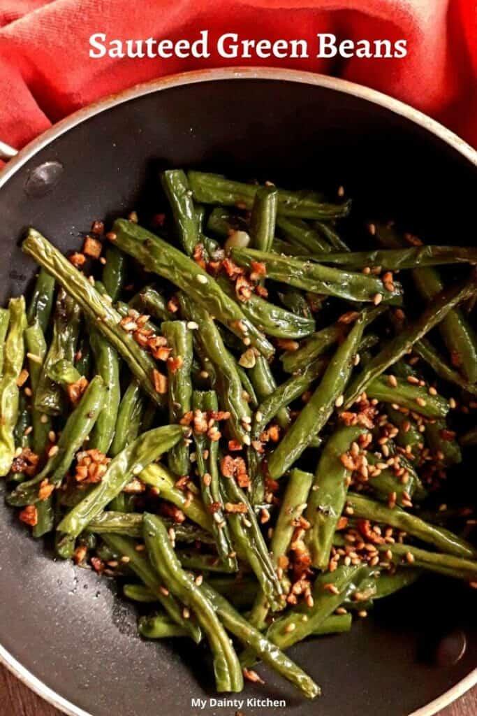 keto sauteed green beans