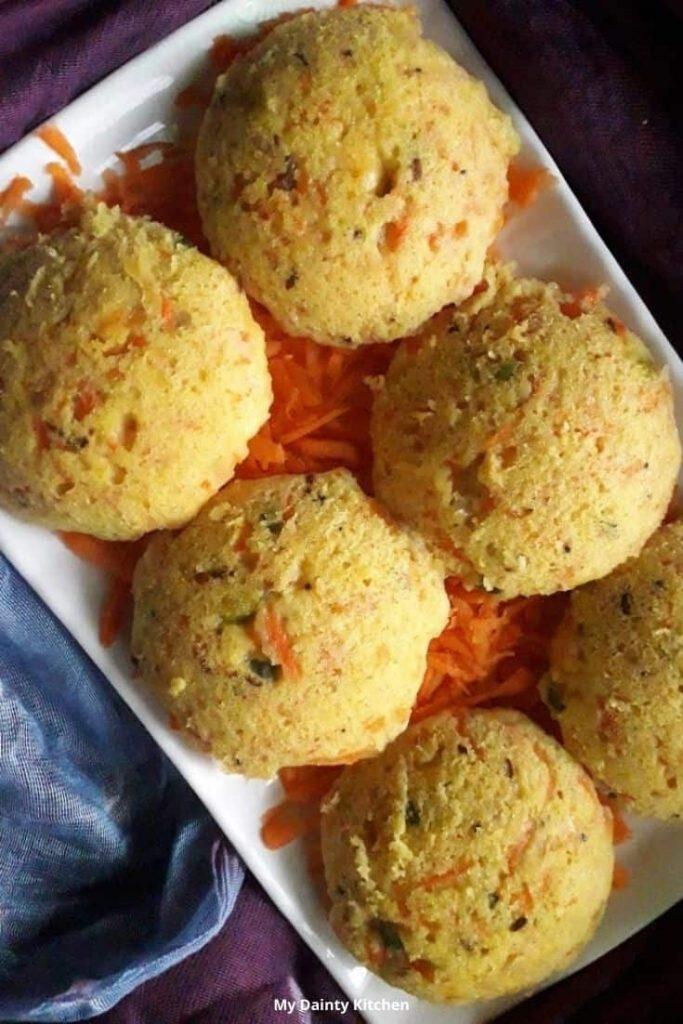 high protein breakfast recipes moong dal idli