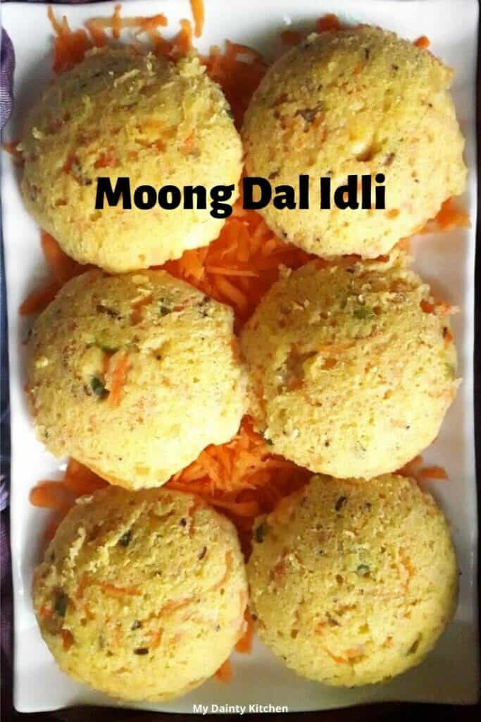 moong dal idli for weightloss
