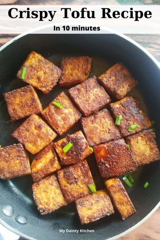 crispy tofu recipe
