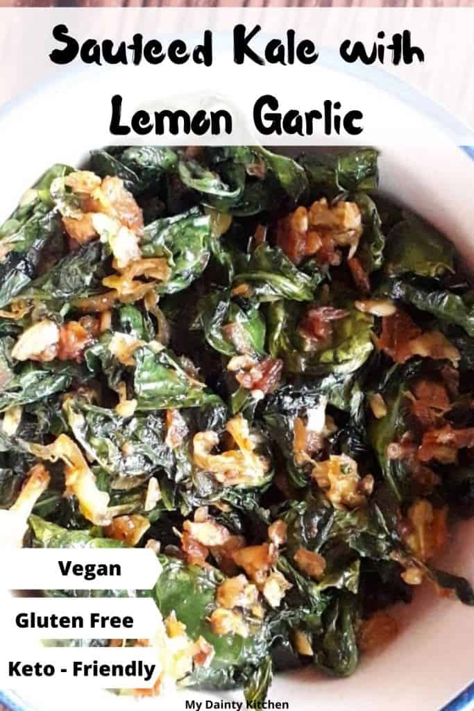 vegan kale recipe for keto diet