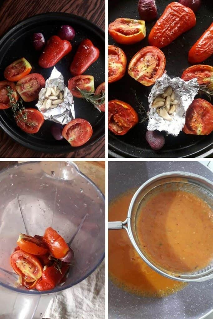 roasted bell pepper tomato soup