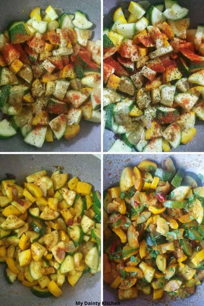 sauteed vegetable
