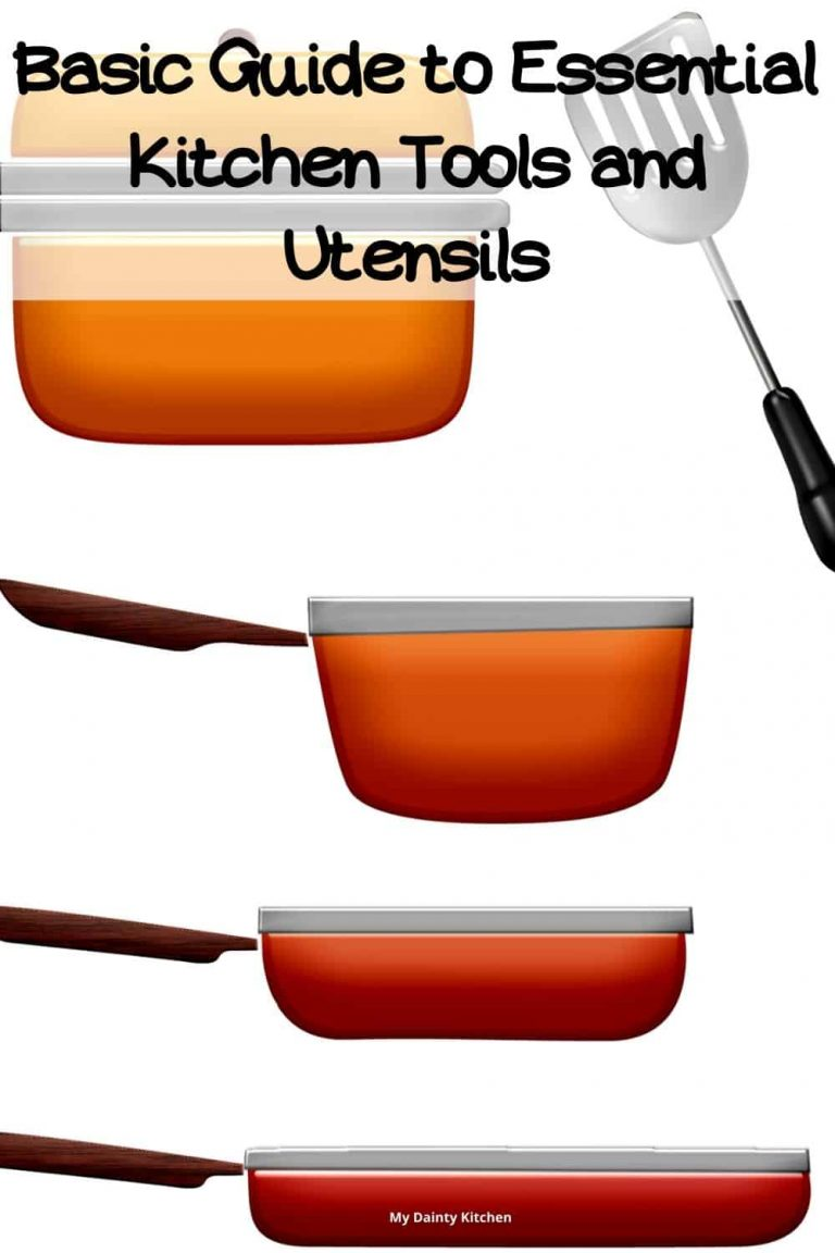 kitchen utensils and tools for beginners