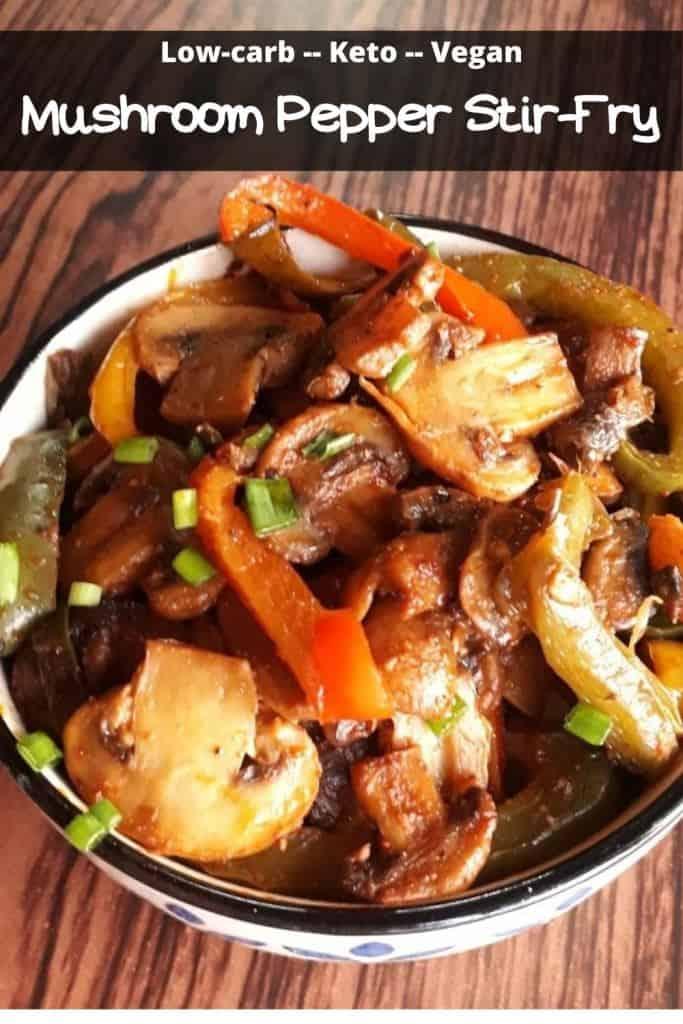 keto mushroom stir fry