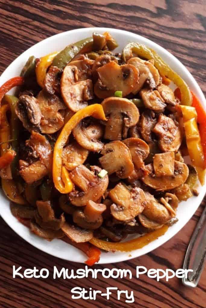 keto mushroom stir-fry