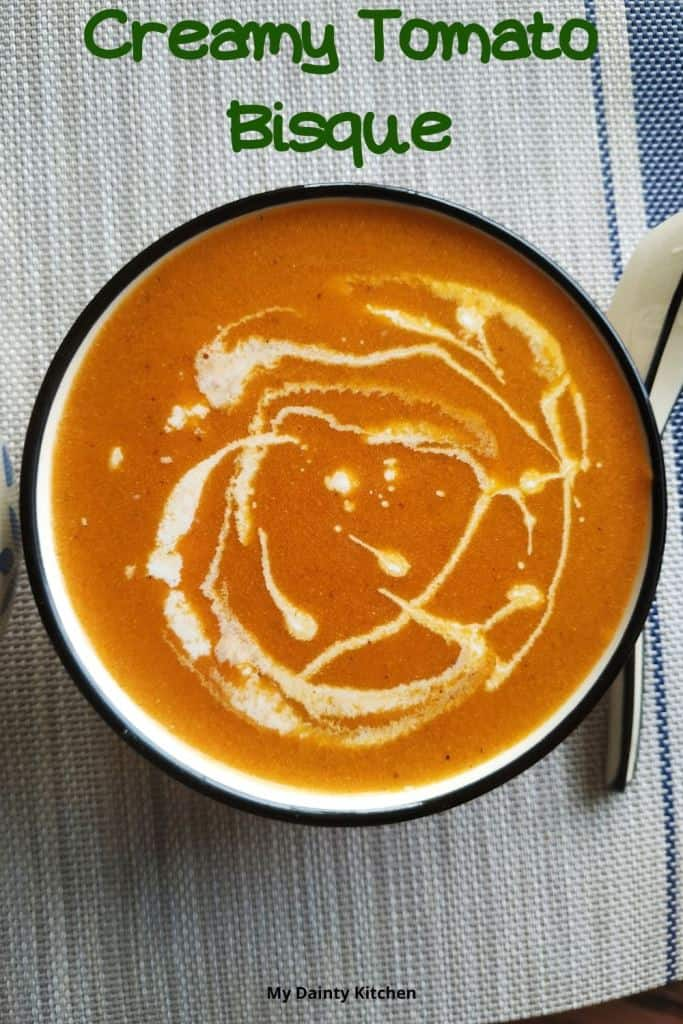 Keto creamy tomato soup