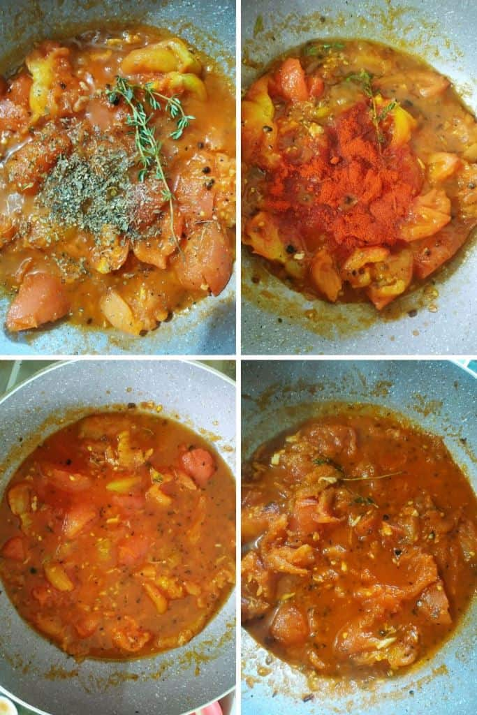 simmer tomato for soup