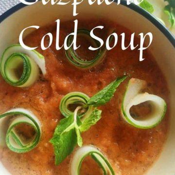 gazpacho soup cold