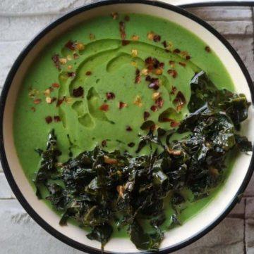 detoxifying green goddess soup