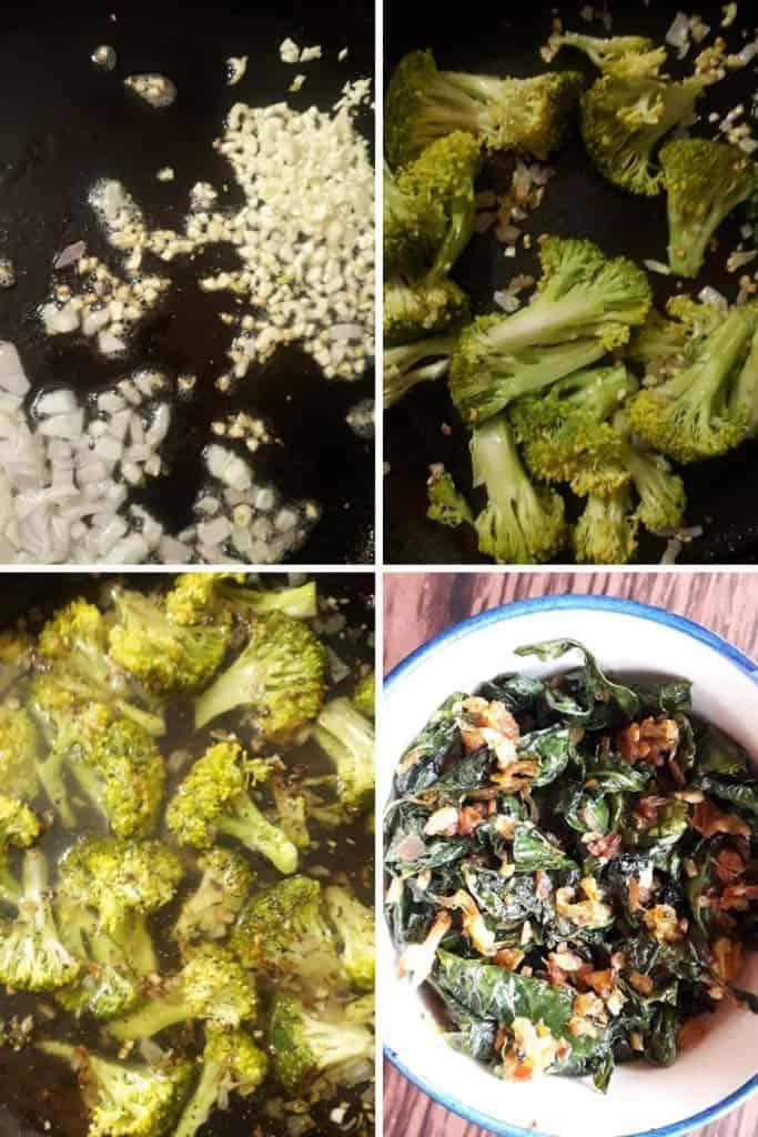 creamy broccoli kale soup