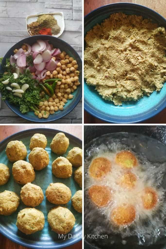 methods of making falafel