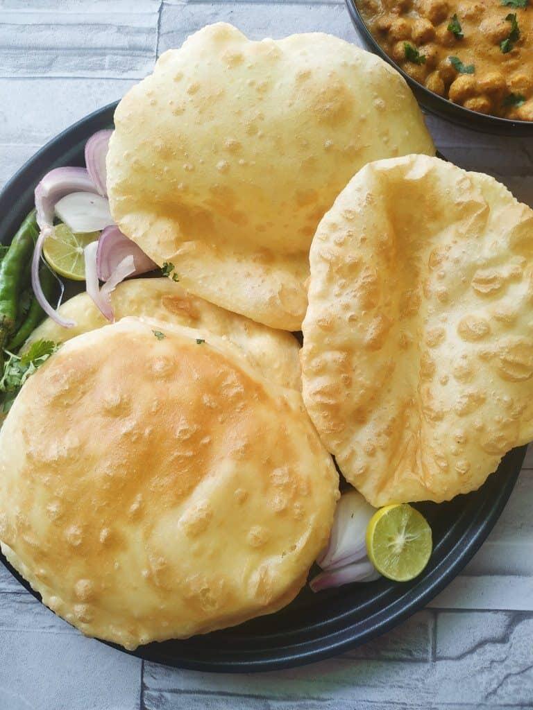 indian flatbread bhature