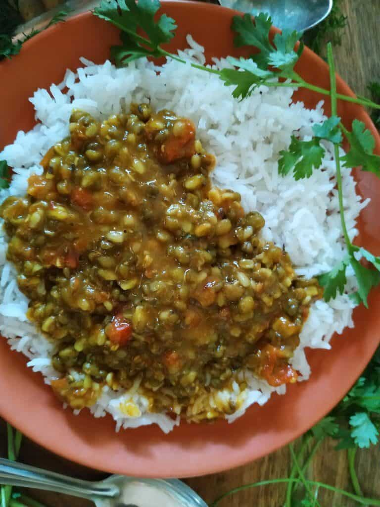 green gram lentil soup