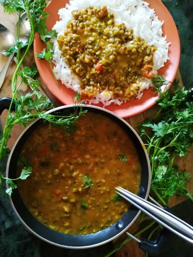 green gram lentils