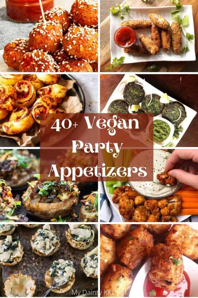 vegan party appetizers
