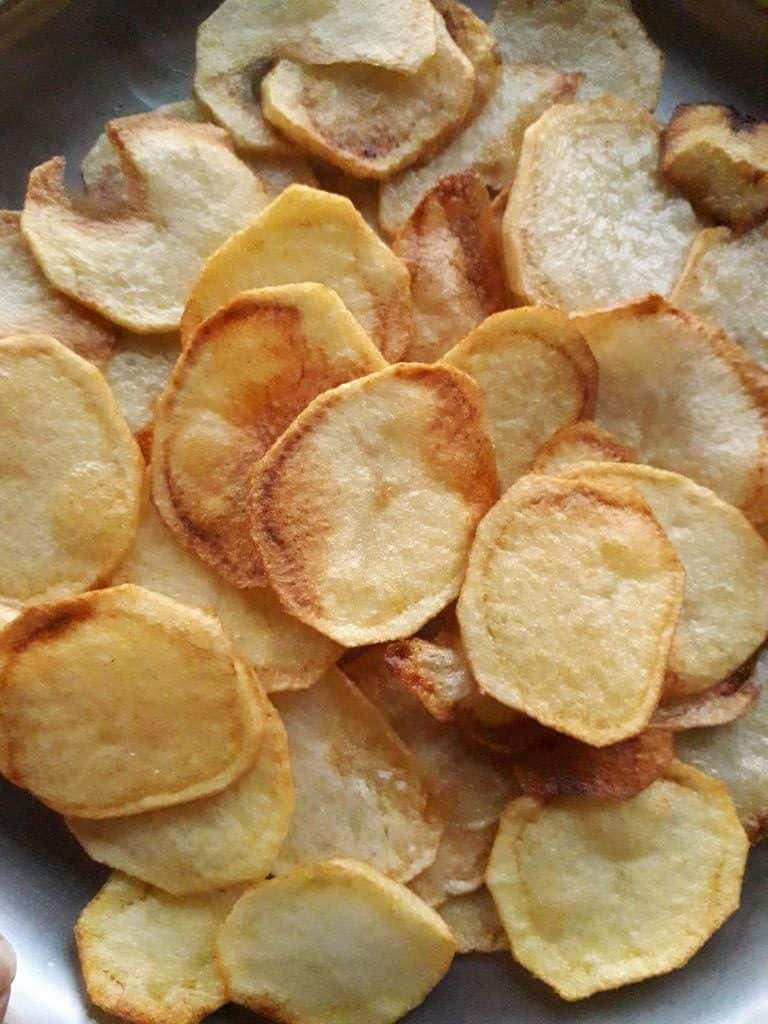 Potato Chips - vegan potato recipes