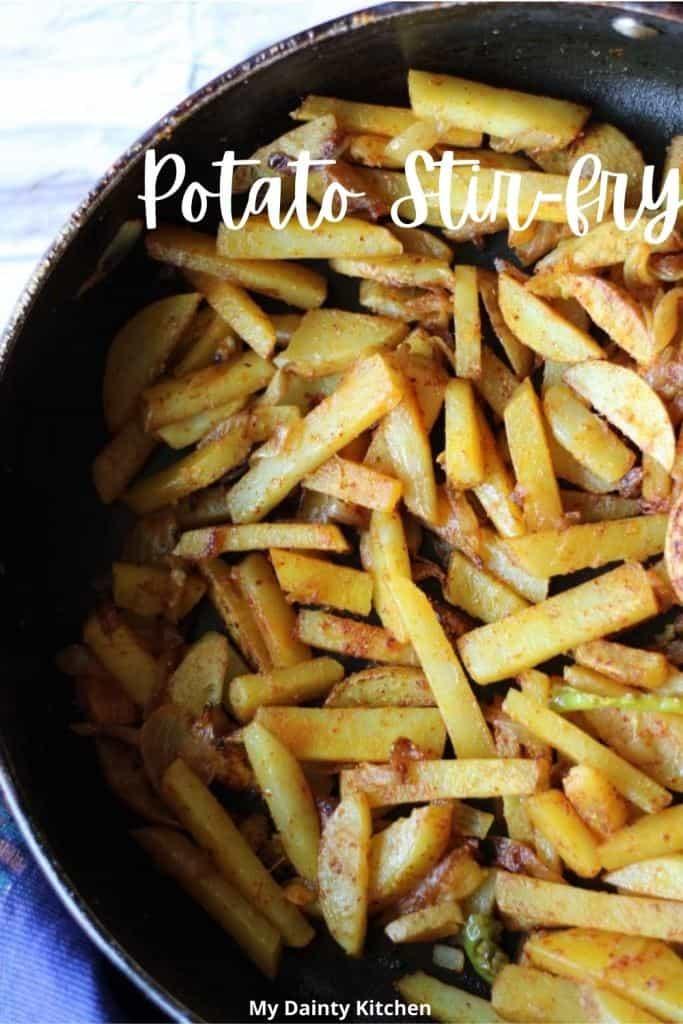 potato stir-fry