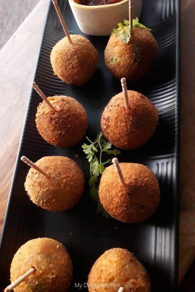 veg lollipop - vegan potato recipes