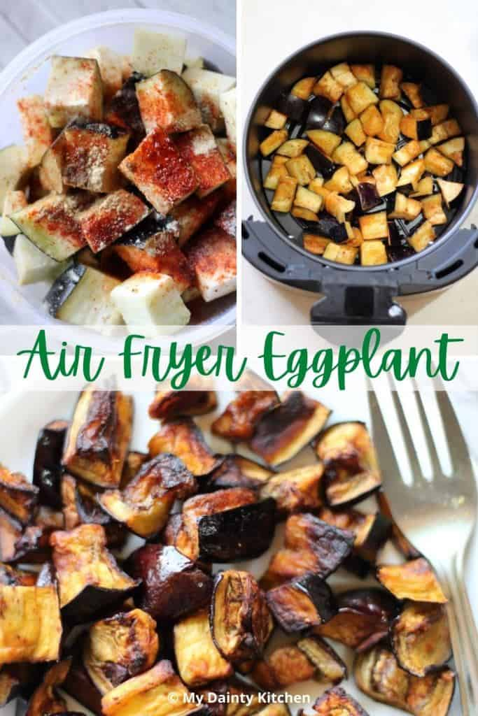 marinate & fry the eggplants