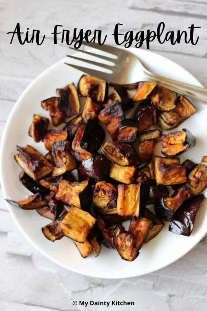 no oil healthy eggplants in air fryer