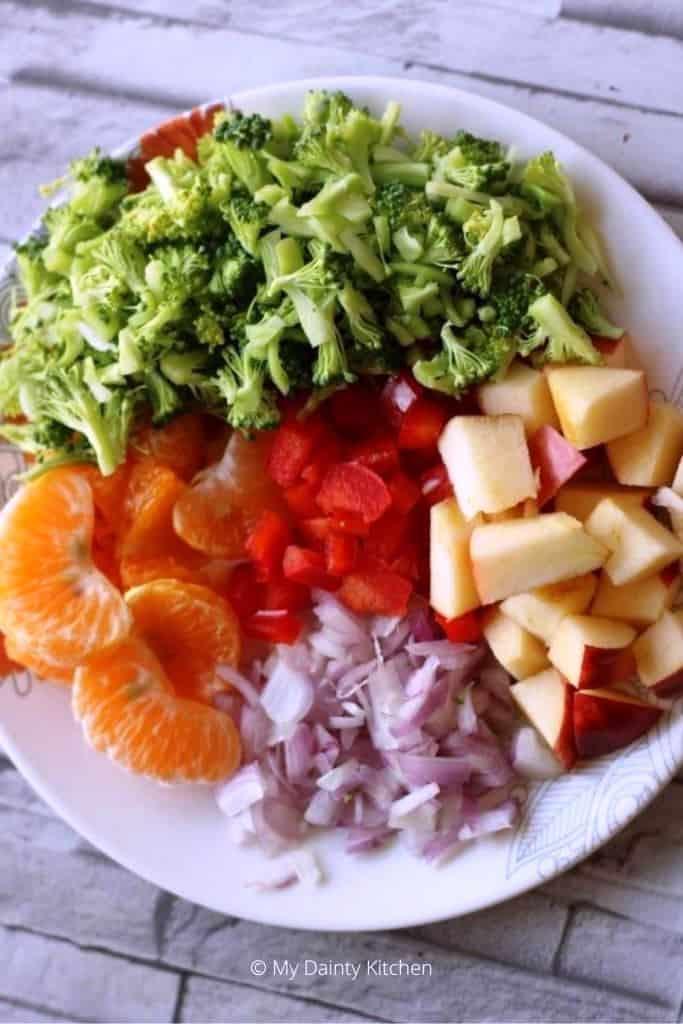 ingredients of salad
