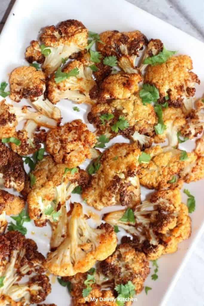 air-fryer cauliflower wings