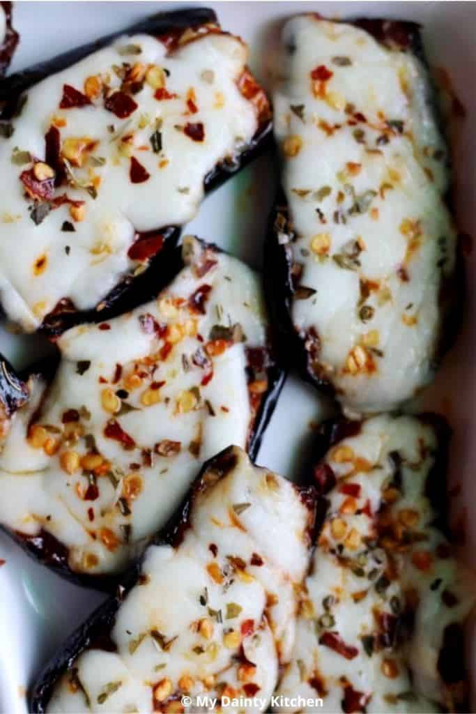 eggplant pizza - what does an eggplant taste like