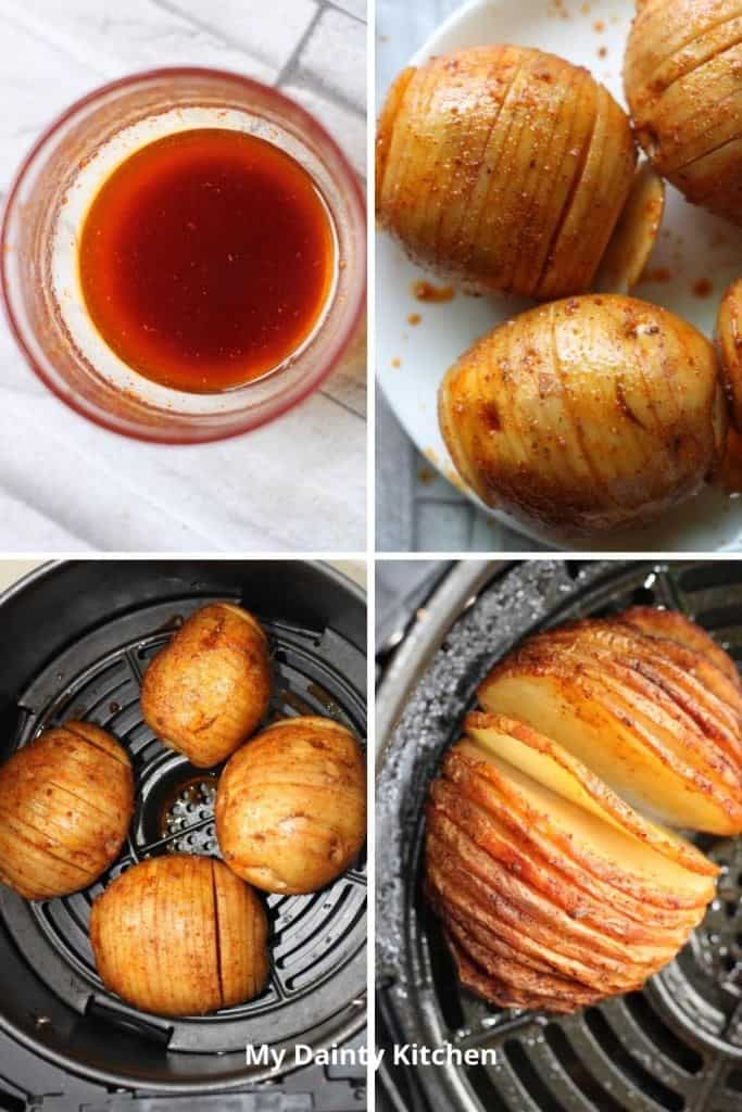 step by step Hasselback
