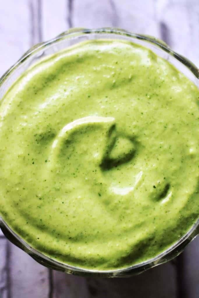 avocado cilantro lime crema